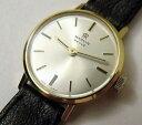 【送料無料】working vintage ladies marvin revue solid gold wristwatch in original box