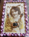 【送料無料】ネックレス ネックレスモネゴールドシトリンjoli collier ancien 1940 1950 sign monet pl or citrine