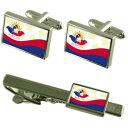 【送料無料】メンズアクセサリ— ベリーズシティベリーズフラグカフスリンクネクタイピンセットbelize city city belize flag cufflinks tie clip box gift set