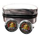 【送料無料】メンズアクセサリ- マグレガースコットランドバッジカフスボタンボックスmacgregor scottish clan crest badge cufflinks amp; box