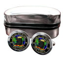 ショッピングマクラーレン 【送料無料】メンズアクセサリ— スコットランドカフリンクスボックスmaclaren scottish clan crest cufflinks amp; box