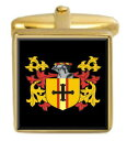 楽天:マッキントッシュ コート 【送料無料】メンズアクセサリ— マッキントッシュスコットランドカフスボタンボックスコートmacintosh scotland family crest surname coat of arms gold cufflinks engraved box