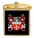 【送料無料】メンズアクセサリ— スコットランドカフスボタンボックスセットファミリークレストコートlake scotland family crest coat of arms heraldry cufflinks box set engraved