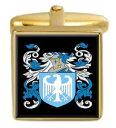 【送料無料】メンズアクセサリ— イングランドカフスボタンボックスセットファミリークレストコートsmeaton england family crest coat of arms heraldry cufflinks box set engraved