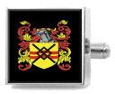 【送料無料】メンズアクセサリ— イギリスカフスボタンボックスbrownlow england heraldry crest sterling silver cufflinks engraved box