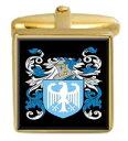 【送料無料】メンズアクセサリ- クリントンアイルランドカフスボタンボックスセットファミリークレストコートclinton ireland family crest coat of arms heraldry cufflinks box set engraved