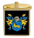 【送料無料】メンズアクセサリ? スコットランドカフスボタンボックスセットファミリークレストコートblane scotland family crest coat of arms heraldry cufflinks box set engraved