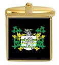 ショッピングボックス 【送料無料】メンズアクセサリ— イングランドカフスボタンボックスセットファミリークレストコートpatmer england family crest coat of arms heraldry cufflinks box set engraved