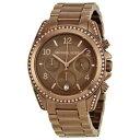 【送料無料】腕時計 ウォッチ ミハエルブラウンステンレススチールmk5493 mujer michael kors brown acero inoxidable reloj con esfera marrn