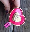 ショッピングusb 【送料無料】ブレスレット アクセサリ— ジョンソンピンクヒンジブレスレットbetsey johnson pink heart hinged bracelet