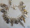ブレスレット アクセサリ— タロットシルバーハンドメイドブレスレットtarot mystical silver tone handmade bracelet 19 21 cm