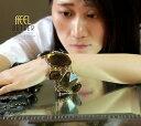 【送料無料】ブレスレット アクセサリ— レディースブレスレットアールデコオリジナルモダンwomens bracelet art deco brown large magnetic original modern gift