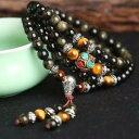【送料無料】ブレスレット アクセサリ— トリプルチベットマラtripple gems tibetan mala