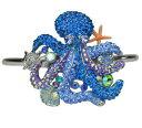【送料無料】ブレスレット アクセサリ— カーク1000タコカフスブレスレットsilvertonekirks folly a thousand hugs octopus cuff bracelet silvertone