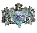 【送料無料】ブレスレット アクセサリ— kirks folly celestial angel heart cuff bracelet silvertonekirks folly celestial angel heart cuff bracelet silvertone