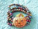 【送料無料】ブレスレット アクセサリ— カボチャブレスレットハロウィーンストレッチkirks folly starlight pumpkin stretch bracelet goldtone halloween