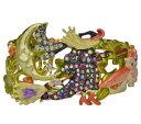 【送料無料】ブレスレット アクセサリ— カフブレスレットkirks folly witches brew cuff bracelet goldtone
