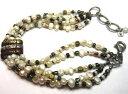【送料無料】ブレスレット アクセサリ— デザイナースターリングシルバーストランドパールビーズブレスレットsilpada designer sterling silver 5 strand copper brass pearl bead bracelet b2188