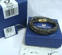 ショッピング3DS 【送料無料】ブレスレット アクセサリ— スワロフスキー3dmultiダブルブレスレットm5094988swarovski 3d stardust light multi double bracelet, m crystal authentic 5094988