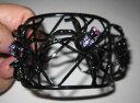 【送料無料】ブレスレット アクセサリ— ジョンソンカフブレスレットクモbetsey johnson rare vampire slayer spider with bling cuff bracelet
