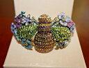 【送料無料】ブレスレット アクセサリ— ラインストーンボックスエナメルカフブレスレットkirks folly to bee or not to bee rhinestone enameled cuff bracelet in box