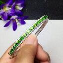ショッピングナチュラル 【送料無料】ブレスレット アクセサリ— ファッションファインシルバーホワイトゴールドブレスレットfashion natural diopside s925 fine silver rolled white gold bracelet