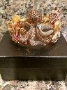 【送料無料】ブレスレット アクセサリ— タコカフブレスレットゴールドkirks folly embrace me sparkle octopus cuff bracelet gold toned nwot