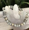 【送料無料】ブレスレット アクセサリ— スターリングシルバーkゴールドブレスレットビーズトグルボールsilpada b1223 sterling silver 14k gold fill toggle etched bracelet bead ball