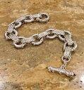 【送料無料】ブレスレット アクセサリ— ジュディススターリングリンクブレスレットシトリンjudith ripka sterling 834 link toggle bracelet with citrine fabulous