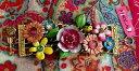 ショッピングガーデン 【送料無料】ブレスレット アクセサリ— ジョンソンガーデンパーティーマルチフラワーワイドトグルブレスレットnwt betsey johnson garden party multi flower ladybug wide toggle bracelet