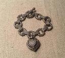 【送料無料】ブレスレット アクセサリ— ジュディスripkaスターリングエンハンサーczトグルブレスレットjudith ripka sterling silver heart enhancer cz citrine toggle charm bracelet