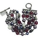 【送料無料】ブレスレット アクセサリ— ソフィアブレスレットシェルレッドビーズビンテージnwt lia sophia jewelry huge bracelet shell red beads vintage free shipping