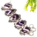 【送料無料】ブレスレット アクセサリ- シェブロンアメジストブレスレット78 sb1048chevron amethyst gemstone handmade fashion jewelry bracelet 78 sb1048