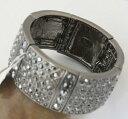 【送料無料】ブレスレット アクセサリ— ソフィアキャビアヘマタイトカットストレッチブレスレットlia sophia caviar hematite cut crystals statement stretch bracelet