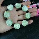 【送料無料】ブレスレット アクセサリ— ビーズブレスレットwhole chinese natural jade maitreya buddha beaded bracelet charm jewelry