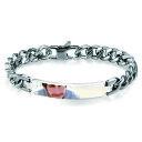 【送料無料】ブレスレット アクセサリ— メンズクラシックパーソナライズロゴカスタムブレスレットチェーンmens classic personalized engraved photo logo custom diy polished bracelet chain