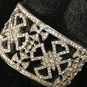 【送料無料】ブレスレット アクセサリ— カフマルタカフブレスレットsuzanne somers cuff maltese cross filigree cuff bracelet silvertone