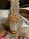 【送料無料】ブレスレット アクセサリ— トンボクリスタルガラスビードブレスレットkirks folly rare dragonfly crystal amp; glass bead 8 bracelet beautiful