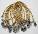 【送料無料】イタリアン ブレスレット ゴールドペンダントファティマブレスレット10 x braccialetto in oro hamsa malocchio kabbalah mano fatima dellamicizia pendente dargento
