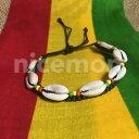 【送料無料】イタリアン ブレスレット ビーズブレスレットカフレゲエサーファーシェルrasta shell a righe con perline braccialetti polso bracciale reggae surfer boho