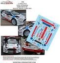 模型車 スポーツカー デカールフォードフィエスタモンテカルロラリーラリーdecals 143 ref 1784 ford fiesta r5 camilli rallye monte carlo 2015 wrc rally