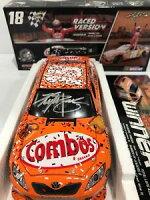 【送料無料】模型車 スポーツカー 200818カイルブッシュコンボドーバーメーカーサイン2008 18 kyle busch combos dover raced win autographed from manufacturer