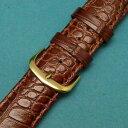 【送料無料】腕時計 ゴールドバックルウォッチストラップ