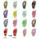 【送料無料】腕時計 レディースクラシックファッションレトロレザーウォッチストラップ ladies omax classic rectangle fashion waterproof watch retro leather strap