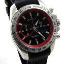 【送料無料】腕時計 ベッドフォードクロノグラフステンレススチールブラックレッドgant bedford gt059001 herren uhr chronograph edelstahl schwarz rot neu
