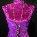 【送料無料】アクセサリー ネックレスジョアンリバースビンテージネックレスゴールドチェーンjoan rivers vintage firmado collar cadena de oro