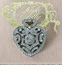 【送料無料】アクセサリー ネックレスラングスキラキラハートペンダントkirks folly grandes chispeante colgante de corazn