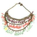 【送料無料】アクセサリー ネックレスジューシークチュールネックレスマルチカラーアカウントjuicy couture collar multicolor con cuentas dp 320