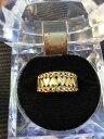 【送料無料】ネックレス ユニークゴールドハートリングunique hallmarked 9ct gold heart ring