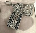 【送料無料】ネックレス ヒルスターリングシルバーブローチペンダントlois hill engraved sterling silver womans broochpendant outstanding